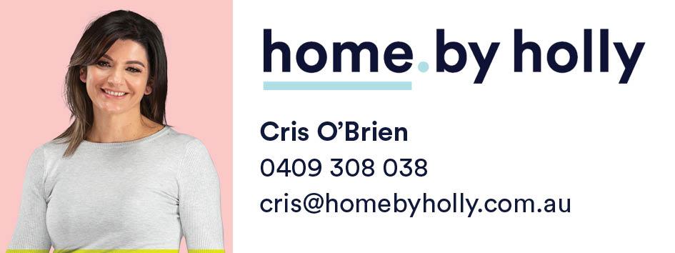 Cris O'Brien Home By Holly Logo