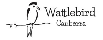 Wattlebird Canberra Logo
